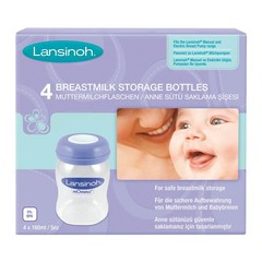 Lansinoh Lansinoh breastmilk bottles 4 pieces