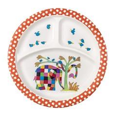 Petit Jour Paris Petit Jour Elmer plate divided colorful