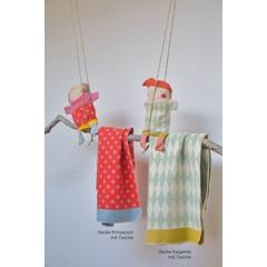 David Fussenegger David Fussenegger Deken juweel Puppet met zak