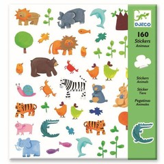 Djeco Djeco Stickers animals