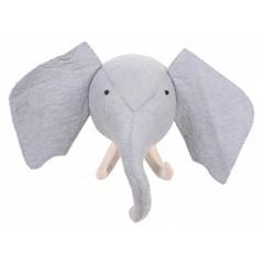 Kidsdepot Kidsdepot ZOO Elefant Tierkopf Trophäe blau