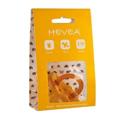 Hevea Hevea pacifiers crown from 3 months, cherry shape
