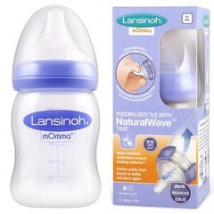 Lansinoh Lansinoh Natural Wave Bottle S, 160ml