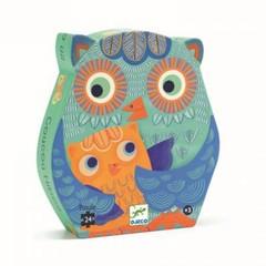 Djeco Djeco shape puzzle Hello Owl 24 parts