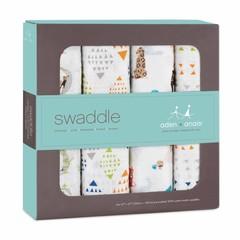 Aden + Anais Aden and Anais Sawddle Puck cloth 120x120 Paper Tales 4p