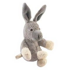 Kallisto Kallisto Esel | Kuscheltier grau Baumwolle Bio