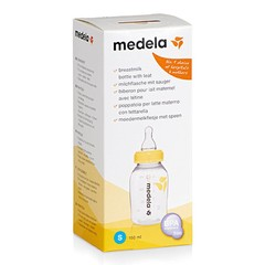 Medela Medela Milk Bottle 150ml, S sucker