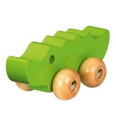 Fashy Fashy wooden animal crocodile green