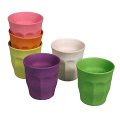 Zuperzozial Zuperzozial cup cupful of Colour Rainbow M 6 pieces