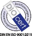 DIN EN ISO 9001:2015 Zertifikat Nr.Z13335