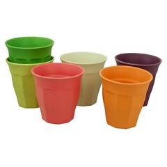 Zuperzozial Zuperzozial Trinkbecher Cupful of Colour Rainbow L  6 Stück