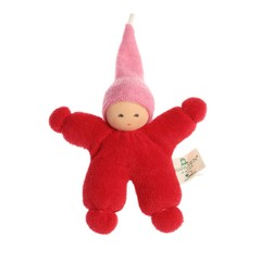Nanchen Puppen Nanchen dolls Imp red