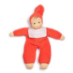 Nanchen Puppen Nanchen dolls terry baby red
