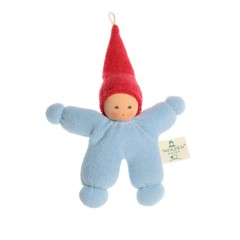 Nanchen Puppen Nanchen Puppen Wichtel blau rot