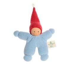 Nanchen Puppen Nanchen Puppen Wichtel blau