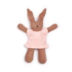 Nanchen Puppen Nanchen pop gevuld stuk speelgoed konijntje Hasi