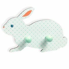 Djeco Djeco kledingkast Bunny mint