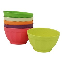 Zuperzozial Zuperzozial bowl Sweet Fortune Bowls Rainbow XL 6 pieces
