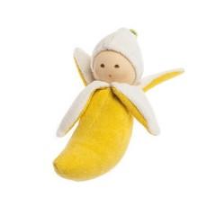 Nanchen Puppen Nanchen dolls Greifling banana