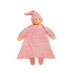 Nanchen Puppen Nanchen Puppenbett Hüpfer curled red