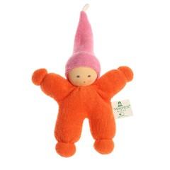 Nanchen Puppen Nanchen Puppen Wichtel orange rosa