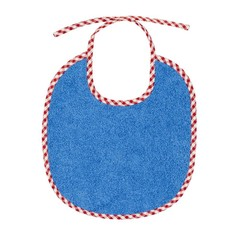 Efie Efie bibs blauwe kleine Vichy Borte KBA