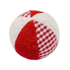 Efie Efie Rassel Ball rot weiß KbA