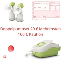 Ardo Medical Ardo Carum Milchpumpe mit Doppelpumpset (inkl.100 € Kaution)