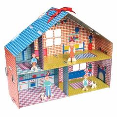 Rex International Rex Bastelset Puppenhaus bunt