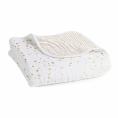 Aden + Anais Aden + Anais Dream Blanket Metallic Gold Classic 120x120