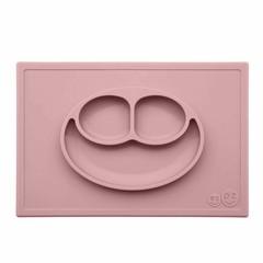 ezpz ezpz Happy Mat Silikon Platzmatte Teller rosa