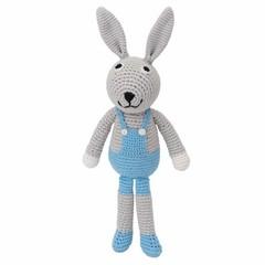 Sindibaba Sindibaba Rassel Puppe Hase BOBBY blau