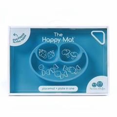 ezpz ezpz Happy Mat Silikon Platzmatte Teller blau