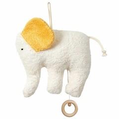 Efie Efie Spieluhr Elefant Organic | Guter Mond gelb kbA