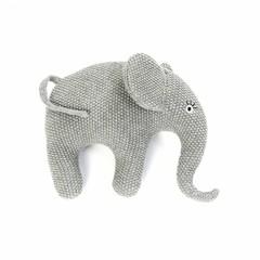 Smallstuff Smallstuff Kissen Elefant klein grau gestrickt