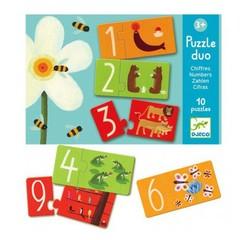 Djeco Djeco Puzzle duo nummers