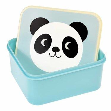 Rex International Rex Brotdose Panda Miko hellblau