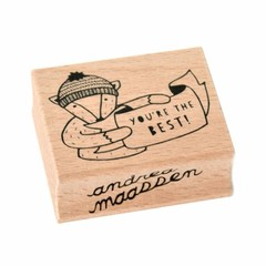 "Petit Monkey Petit Monkey Stempel Holz Bär ""You are the Best"""
