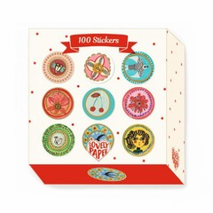 Djeco Djeco Sticker Lovely Papers Aurelia 100 Stück
