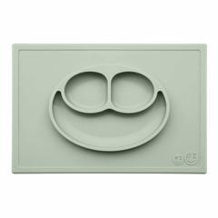 ezpz ezpz Happy Mat Silikon Platzmatte Teller mandelgrün