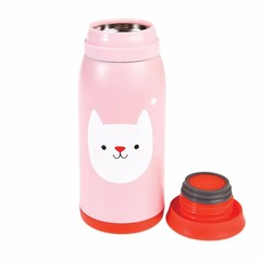 Rex International Rex Thermosflasche Katze Cookie rosa