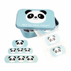 Rex International Rex Kinderpflaster Dose Panda Miko blau