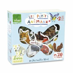 Vilac Vilac Magnet-Box Animals Nathalie Lètè 20 pieces