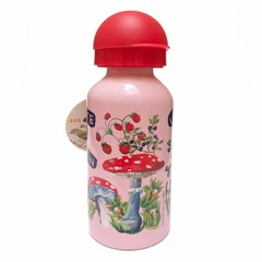 Vilac Vilac drinking bottle pink fly agaric Nathalie Lètè 300ml