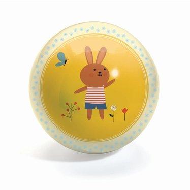 Djeco Djeco Ball Sweety 12cm Hase gelb