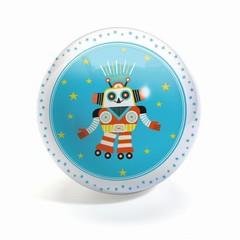 Djeco Djeco Ball Funky Robots 12cm robot blauw