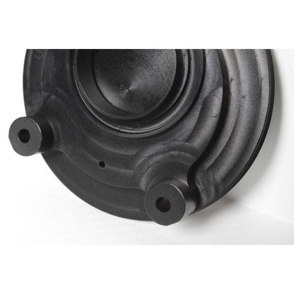 PP Tuning Tankdop zwart geanodiseerd met schroefdop