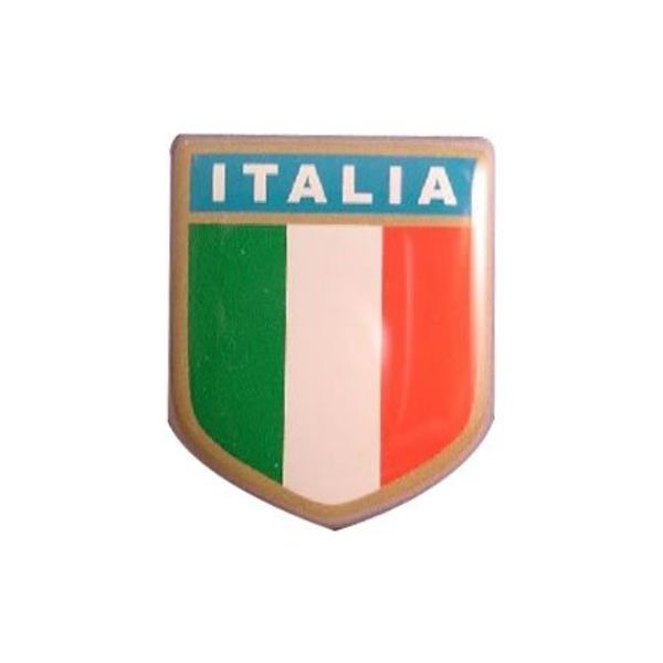 Accessori Italy 3D doming Italiaanse Squdra sticker