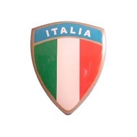 Accessori Italy 3D doming Italiaanse Squadra sticker