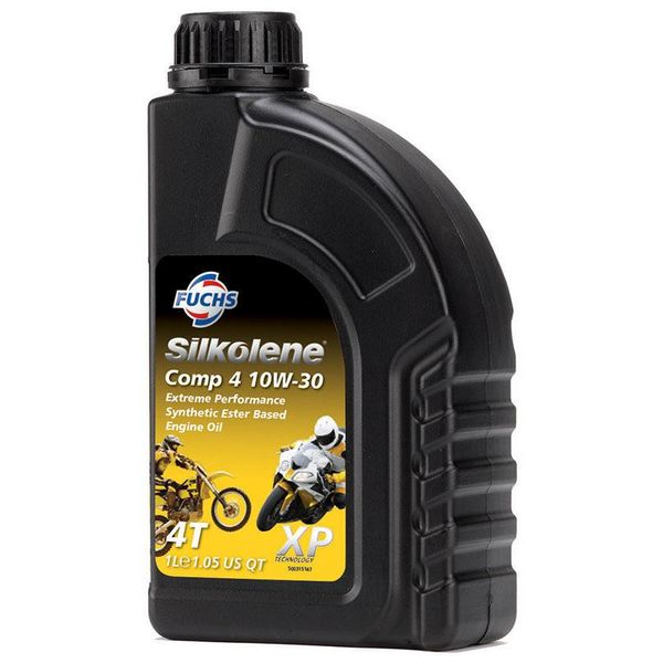 Fuchs Silkolene Comp 4 XP 10W-30 Ester basis Semi synthetische motorolie